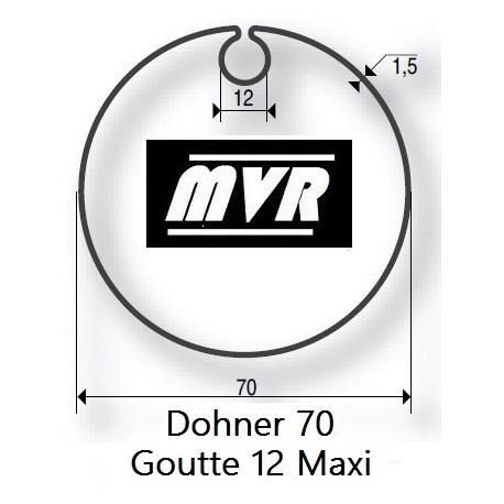 Bagues moteur volet roulant Somfy LT50 - Dohner 70