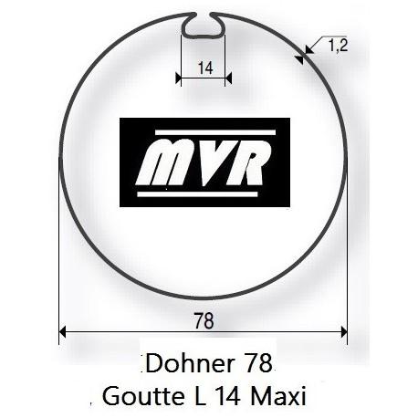 Bagues moteur Somfy LT50 - Dohner 78