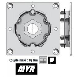 Plaque support moteur Somfy LT50 - LT60 à visser