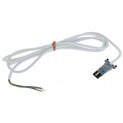 Cable moteur Somfy LT50/LT60 blanc VVF pour moteur radio - 2.5 m