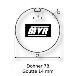 Bagues moteur Somfy LT60 - Dohner 78 Goutte 14