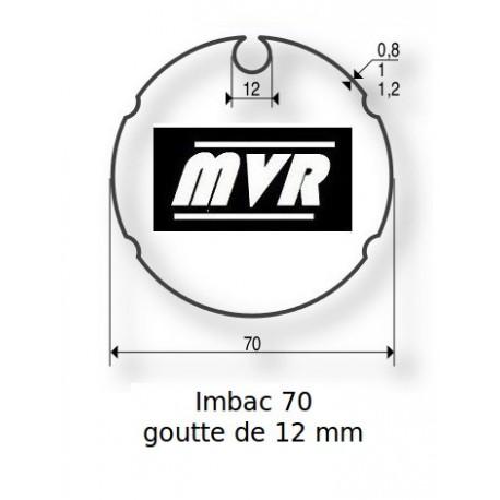 Bagues moteur Somfy LT50 - Imbac 70-12