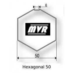 Bagues moteur Somfy LS40 - Hexagonal 50