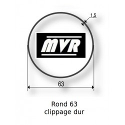 Bagues moteur Somfy LT60 - Rond lisse 63 clippage dur