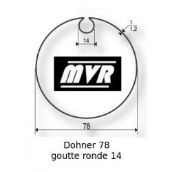 Bagues moteur Somfy LT60 - Dohner 78 Goutte ronde 14