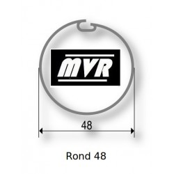 Bagues adaptation moteur Somfy LS40 - Rond 48