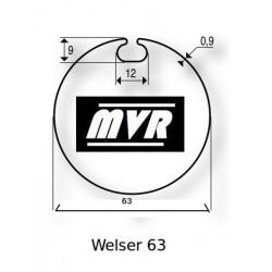 Bagues moteur Somfy LS40 - Welser 63